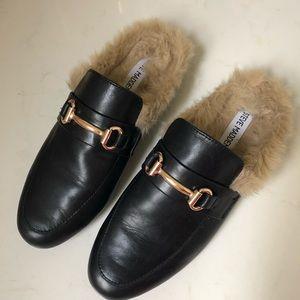 Steve Madden Fur Loafers